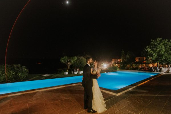 Eremo Santa Barbara matrimonio serale