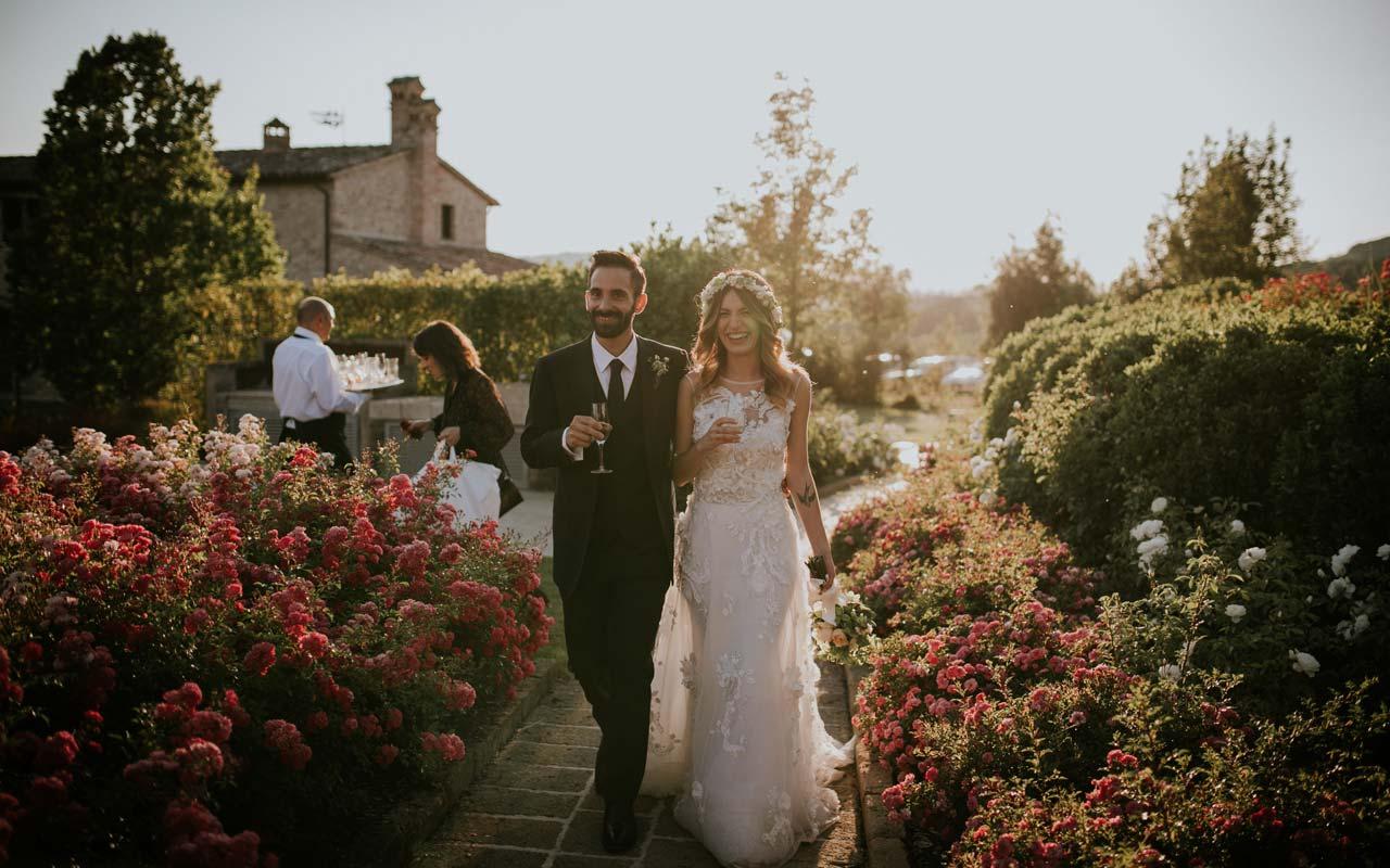 matrimonio nella campagna Umbra